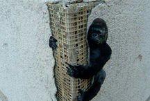 Street Art intervenerende
