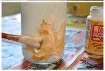 sklenice- podzim