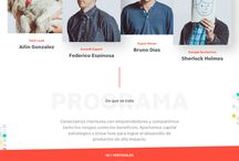 Web Design / Web design inspiration.