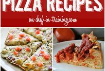 Πιτσες / Διαφορες συνταγες για πιτσα και φαγητο