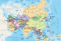 Mappe / Mappe per lo studio della geografia