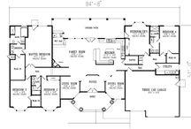 Floor plan ideas  / by Kristen Sutherin