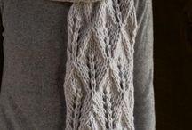 scarf handknit