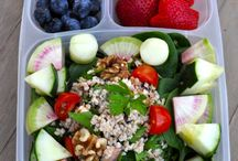 Healthy packed lunches