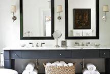 Bathroom ideas / by B Gorman