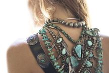 Bohemian Jewelry / Necklaces, Earrings, Bracelets inspired by the bohemian style.