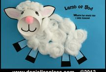 Sheep and Lamb Crafts  / by Danielle's Place of Crafts