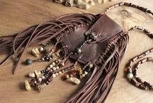 Leather Shaman Medicine Bags