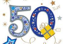 Bursdags 50 Års