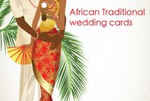 Traditional Invitation Cards    Afro/ Nigerian Cards