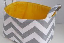 Fabric Baskets / by Rhonda Nuccio