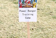 Cam's 4th Bday Ideas / Power Rangers themed birthday party / by Devo T