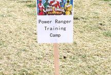 Anniversaire Power Rangers