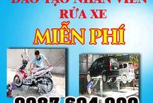 Đào tạo nhân viên rửa xe