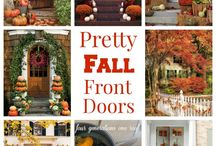Fall decorating / by Vickie Reed