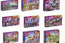 Summer 2015 LEGO Friends sets.