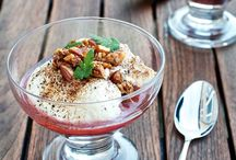Desserts // Desserter / Lots of sinful desserts!