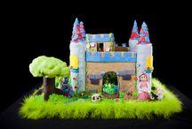 Gingerbread House Castles / gingerbread gingerbread house Christmas Christmas house cookie house castle