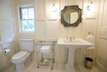 Bathroom ideas / by Julie Voisin Zapton