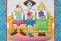 Sewing-Themed Quilts / Sewing and quilting-themed quilts and quilt blocks!