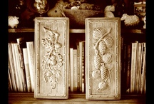 HaldeCraft Decorative Ceramics / While I love the marriage of functional and beautiful, this board is for decorative ceramics that I make; wall hangings, plaques, knickknacks, and figurines.