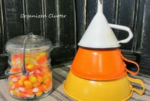 Vintage: Funnels / Vintage funnels as collections and decor. / by Carlene @ Organized Clutter