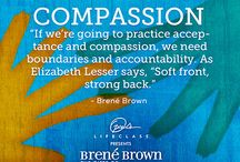 #OLCBreneCourse / This board is based on Brené Brown's E-Course