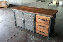 Rustic & industrial furniture