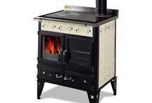 Cuisinières à bois + chauffage