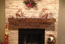 fireplace makeover / by Lisa Wolfe