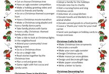 Family ideas for the holidays
