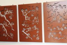 Laser Wall Art - Hindmarsh Fencing / Our laser wall art range is available in Aluminium or CorTen - each piece is custom made to suit your fabulous ideas & home! View more info at www.hindmarshfencing.com.au