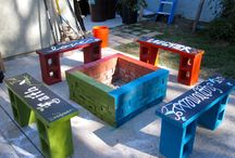 Fire pit chair's