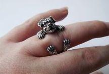 Animal shaped rings
