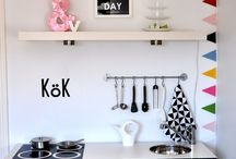 Childrens playroom / Allround kids room ideas. DIY hacks to make awesome toys (included ikea hacks)