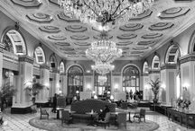 Hotel Lobbies / I love hanging out in old hotel lobbies. People watching is great, and architecture is a lot of fun too. All photographs © Dean Allman Photography