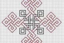 Kareli kağıt desenleri