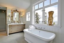 Bathrooms / indoors and outdoors / by Kirsten Marie Inc