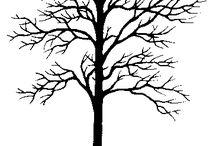 puu silhueti