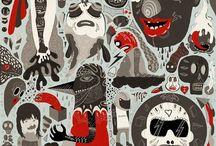 Illustration / by Kristian Pechotsch