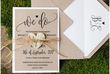 Inspiration || Invitations