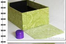 Коробочки покрытые тканью