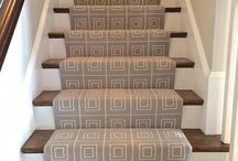 Stair Runner-Needham, MA / We recently installed this Bloomsburg carpet on stairs.  / by The Carpet Workroom