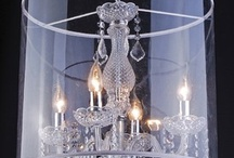 chandelier ideas / by Laura Dickson