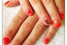 Love Red ❤ / New nail art ☺