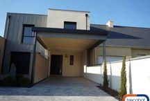 Maison témoin à Nantes / Vous avez un projet de construction sur Nantes ? Venez visiter la maison #RT2012 du constructeur #Trecobat pour vous projeter dans votre future #maison. http://bit.ly/1KB8ynb