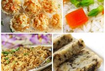 Rice Dishes from all over the world