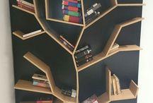 Etagères-bibliothèques