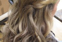 hair styles for wedding / by Katie Holt