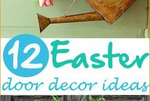 easter art and decoration